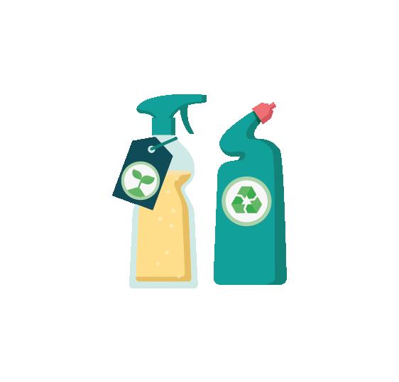 Používejte produkty šetrné k životnímu prostředí